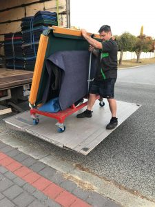 Pool Table Relocations